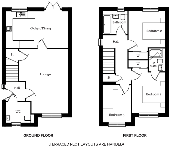 Aspen End Floorplan