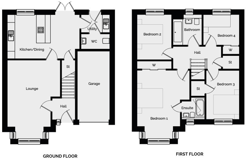 Maple Floorplan