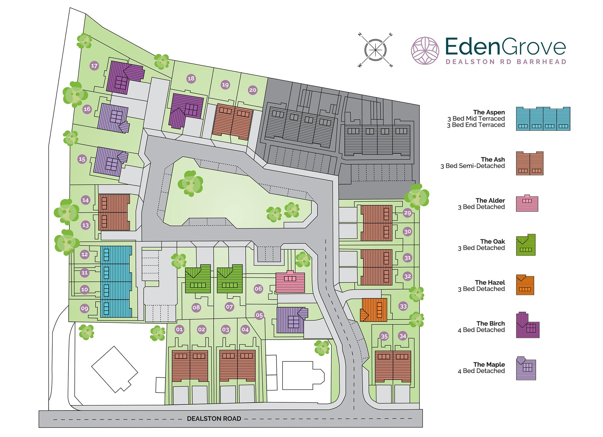 Eden Siteplan