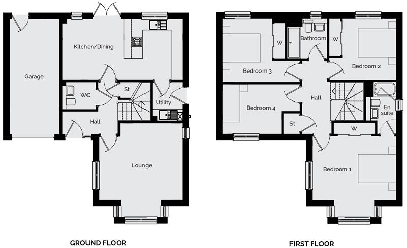 The Birch Floorplan